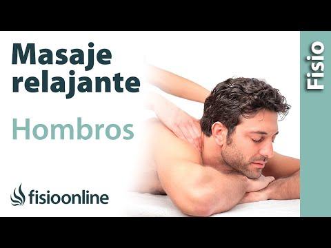 Cómo hacer un masaje relajante de hombros (trapecios y escápulas)