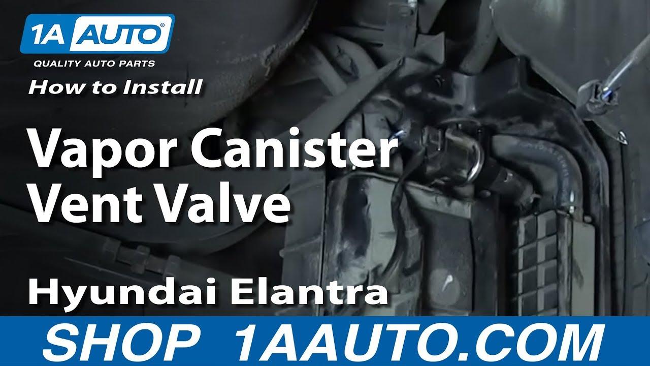 hight resolution of how to install replace vapor canister vent valve 2001 06 hyundai elantra
