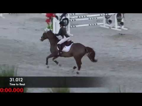 11 Year Old Going For It At The $7500 Show Jumper Classic In Ocala