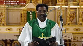 Maddi / Novenacho Poilo Dis - Fr. Patrick Luis sfx - St. Michael's Church, Anjuna.