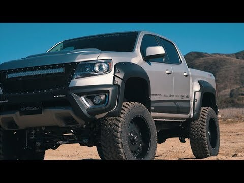 GRID Off-Road GD3 Wheels & Bulletproof Suspension on Chevy ...