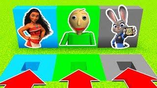 DO NOT CHOOSE THE WRONG HOLE :(MOANA,BALDI,ZOOTOPIA)(Ps3/Xbox360/PS4/XboxOne/PE/MCPE)