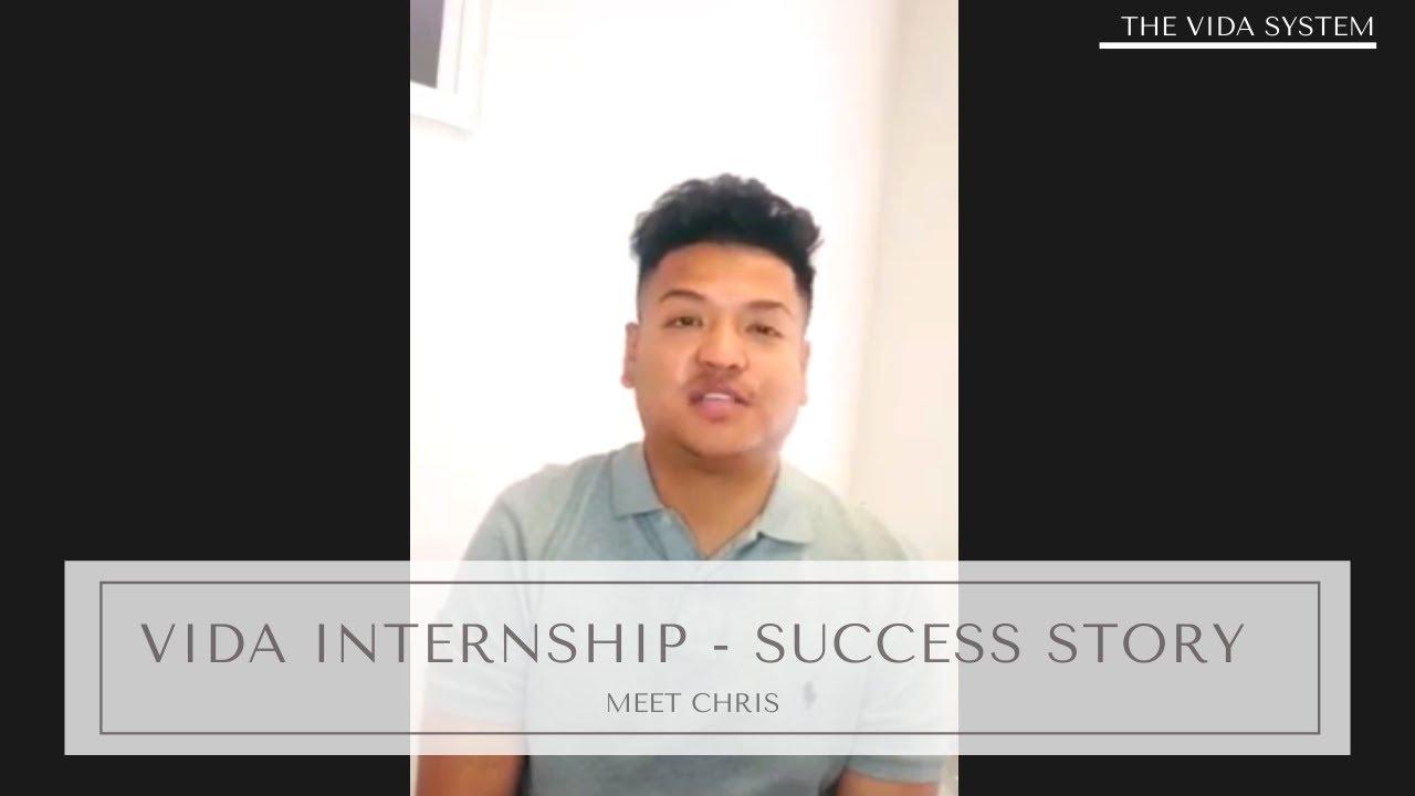 Meet Chris a Vida Intern
