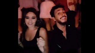 سعد المجرد يحتفل بنجاح اغنيته غلطانة في لبنان مع صديقته سيرين عبد النور