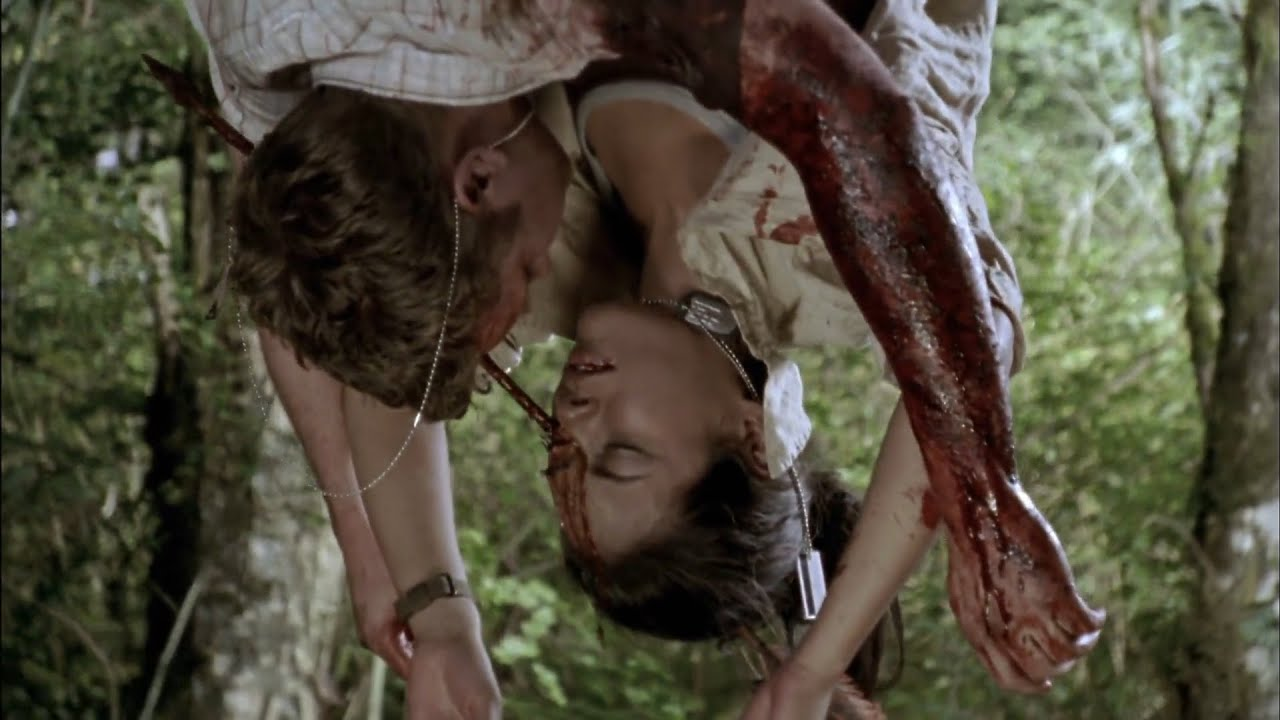 Download Wrong Turn 2: Dead End (2007) | Jonesy's And Amber's Death Scene | 31kash Movie Clips