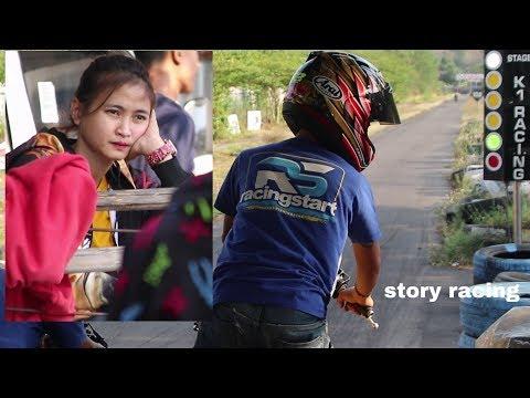 Alvan Cebonk Nyetting DiTungguin Wiwi Mungils Langsung Di Sirkuit GDS