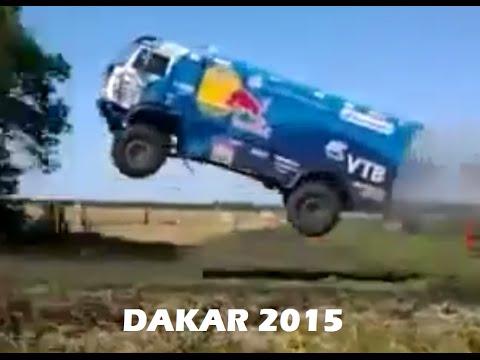 Rally Dakar 2015 - Kamaz Jump (Salto Espectacular)