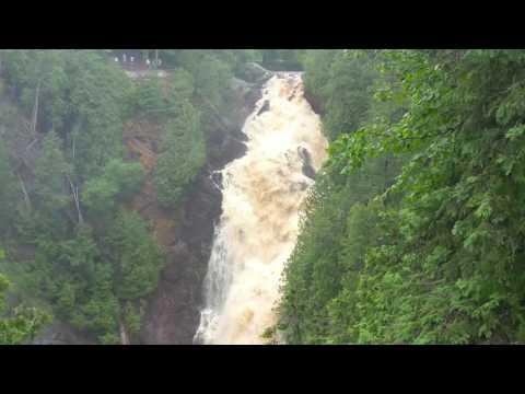 Big Manitou Falls - Superior, WI