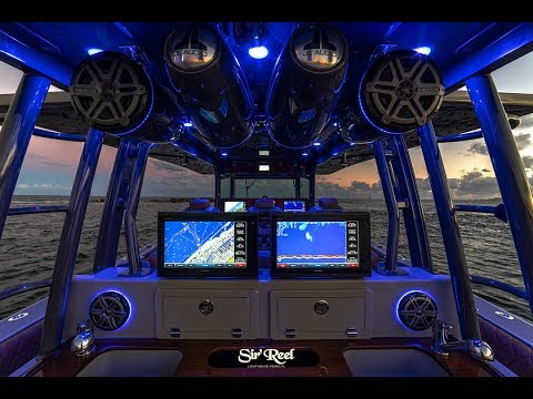 Center Console Fishing Boat (Sir'Reel Fishing Team)
