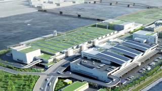豊洲市場 施設竣工映像(水産)