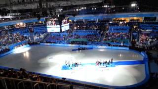 Олимпиада в Сочи глазами очевидца. Фигурное катание. Церемония награждения.