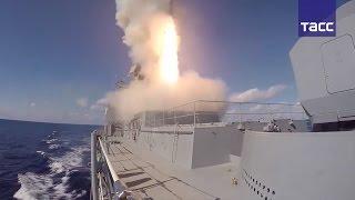 Видео ударов ракет