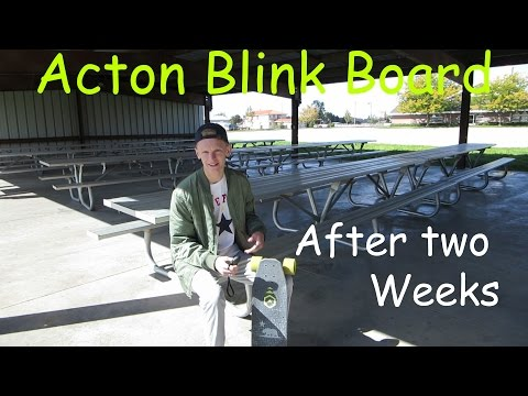 Acton Blink Board after 2 weeks! (HUB MOTOR)