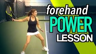 Tennis Is Easy - 3 Simple Keys To HUGE FOREHAND POWER