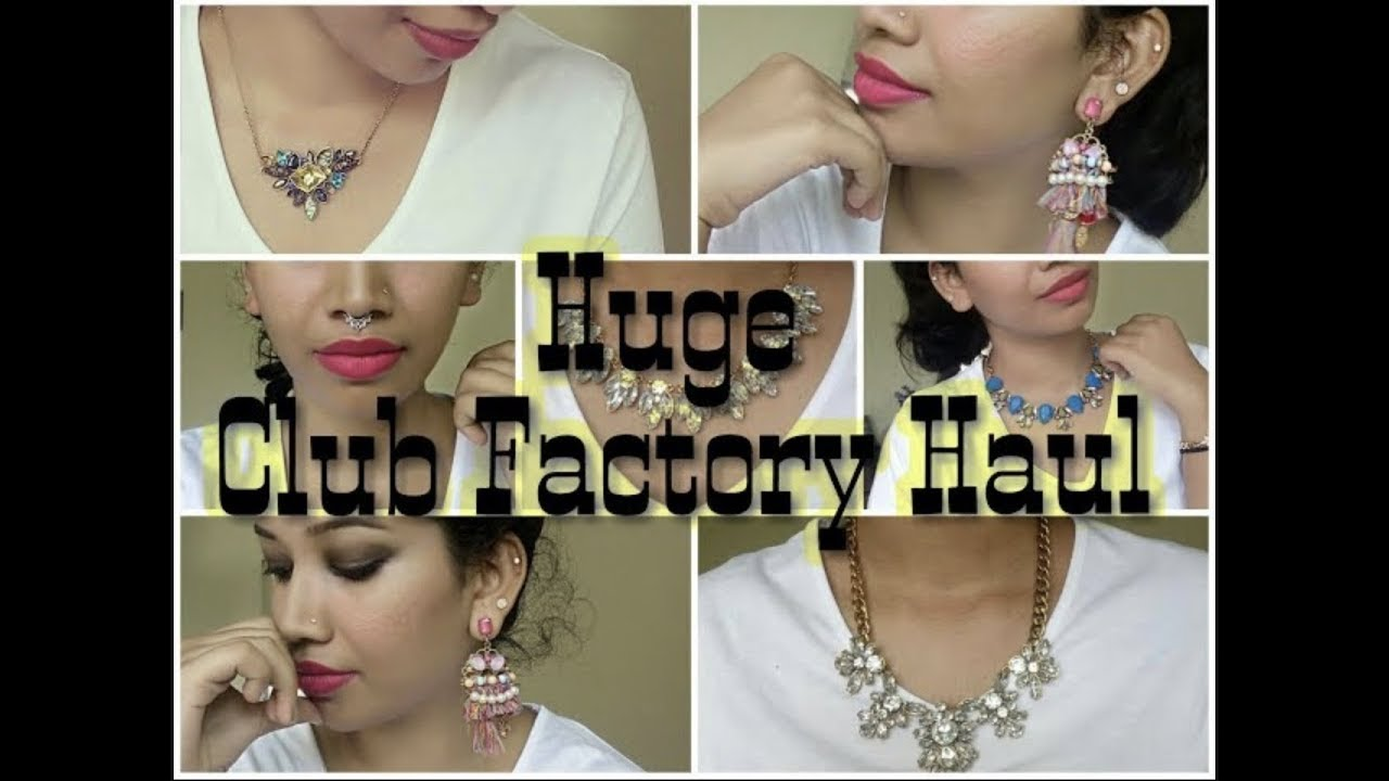 Club Factory Online Ping Haul Jewellery Blush With Ash