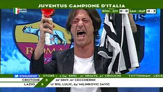 DIRETTA STADIO | Roma Juve 0 0 |OPPINI FESTEGGIA IL 7° SCUDETTO CONSECUTIVO DELLA JUVE!