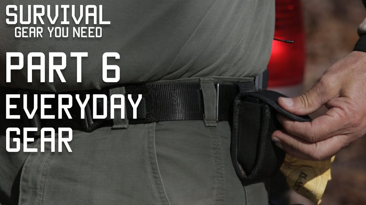 Survival Gear you should keep on your body | Every day carry | Part 6 | Tactical Rifleman - YouTube