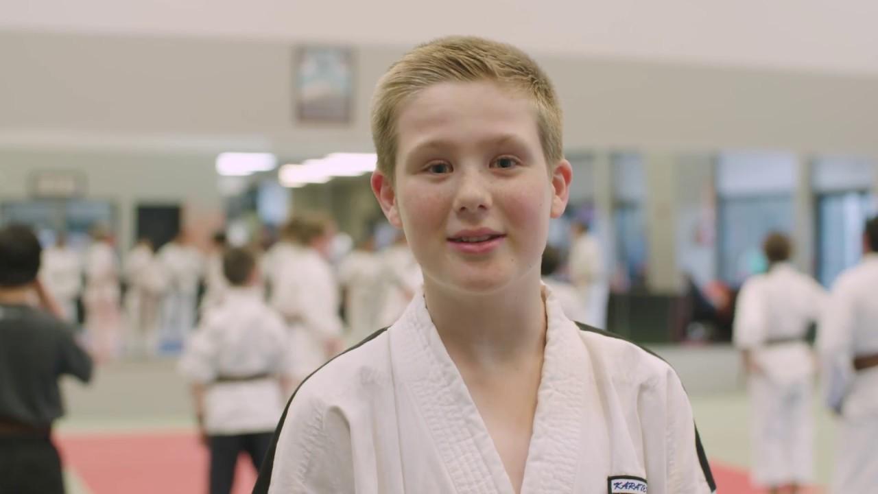 Weapons Training - Karate