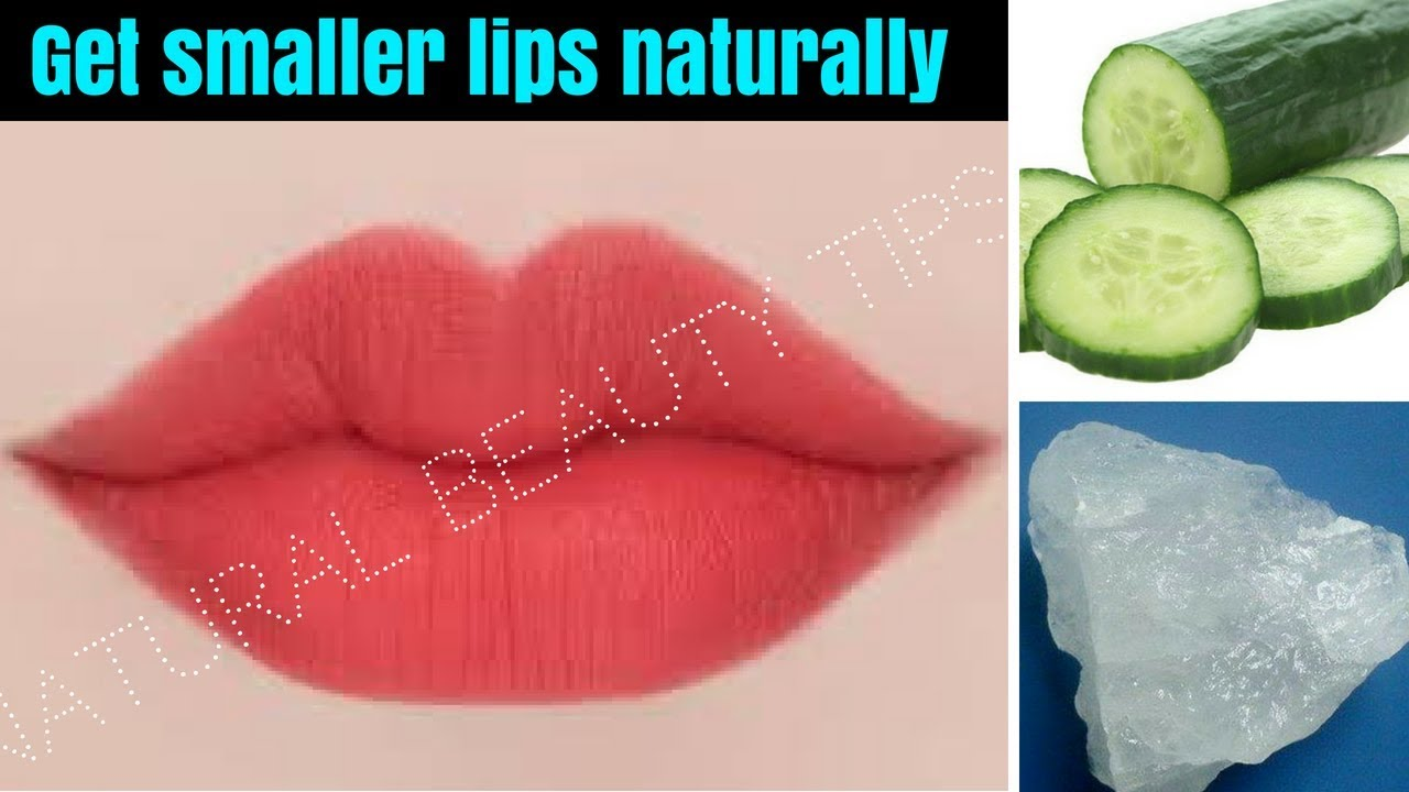 How To Make Big Lips Smaller Without Surgery Naturally -2755