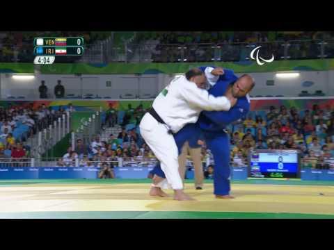 Judo | Venezuela v Iran |  Men's +100 kg Preliminary Round of 16 | Rio 2016 Paralympic Games