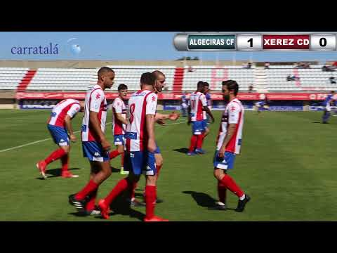 ALGECIRAS CF 1 FÚTBOL XEREZ DEPORTIVO FC 0