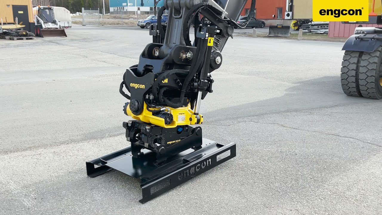 Tiltrotator stand/carriers