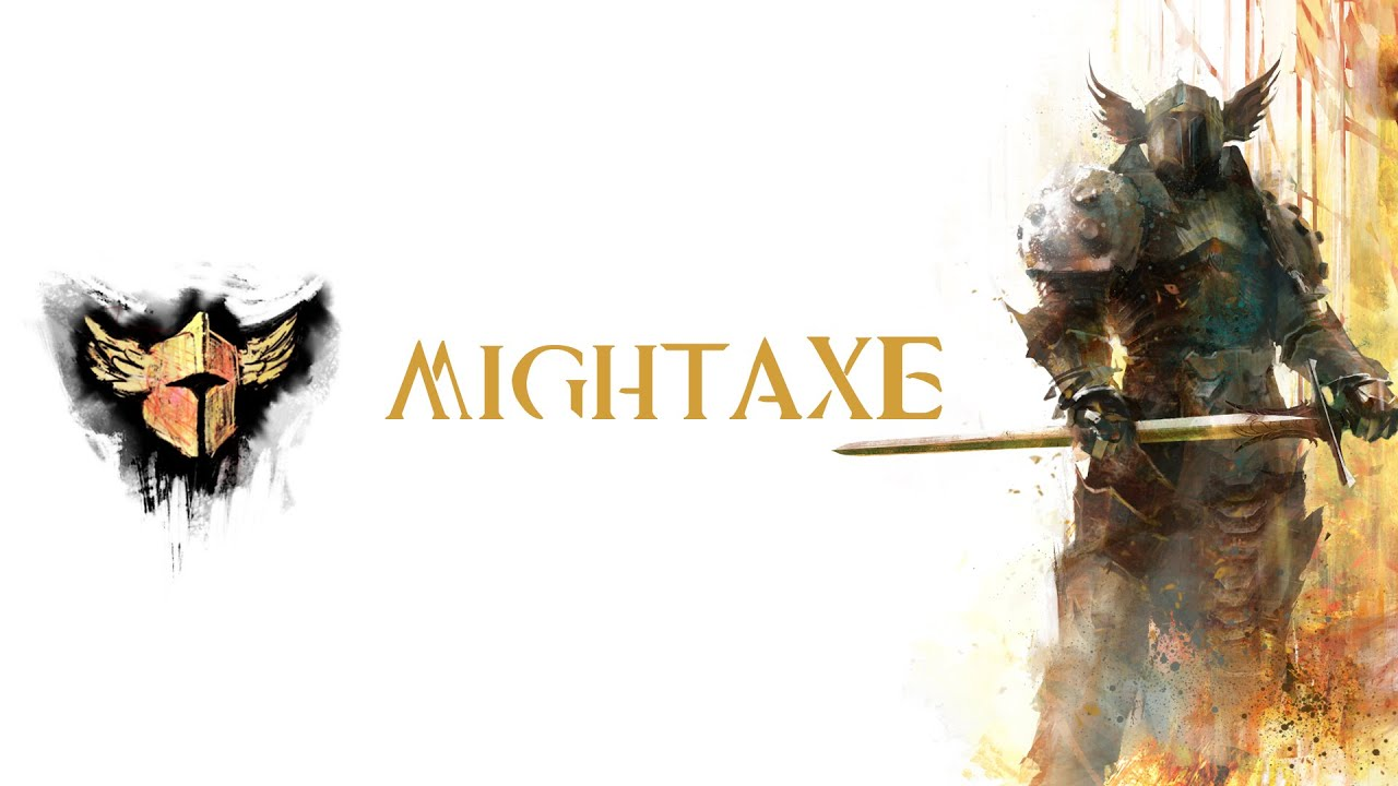 "Guerrier ""MightAxe"" BUILD 