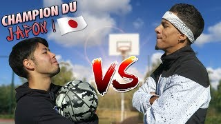 J'AFFRONTE LE CHAMPION DE FREESTYLE DU JAPON !