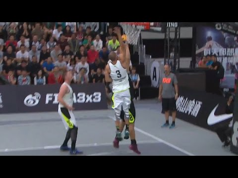 Novi Sad Al Wahda - Wu Ke Song - Men's 1/4 Final FIBA 3x3 World Tour Beijing