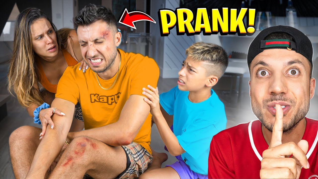 He got in a ACCIDENT.. (We Freaked Out) 😢   The Royalty Family