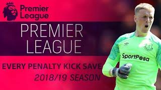 Every penalty kick save of 2018-2019 Premier League season | NBC Sports