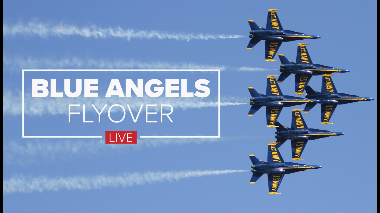 VIDEO: Blue Angels fly over New Orleans