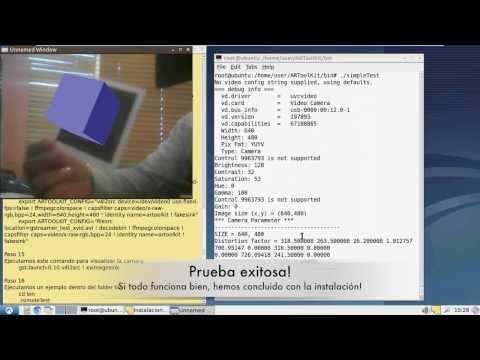 Instalacion de ARToolKit en Ubuntu