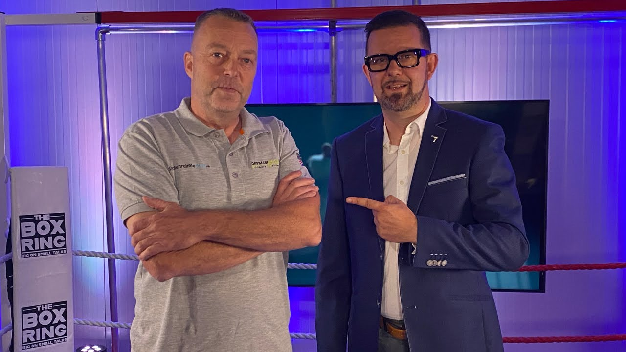 The Boxring met Johan Luijks