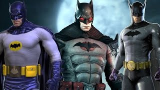Batman: Arkham Knight - All Costumes and Batmobile Skins