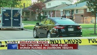 police father kills 2 teens 2 children in attack on family at dearborn heights home