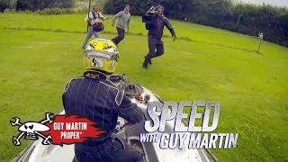 Guy's Hovercraft Driving Test | Guy Martin Proper