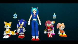 [MMD] Miku, Sonic & Friends ~ Into Your Heart