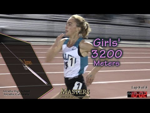 2017 TF - CIF-ss Masters - 3200 Meters (Girls) (35)