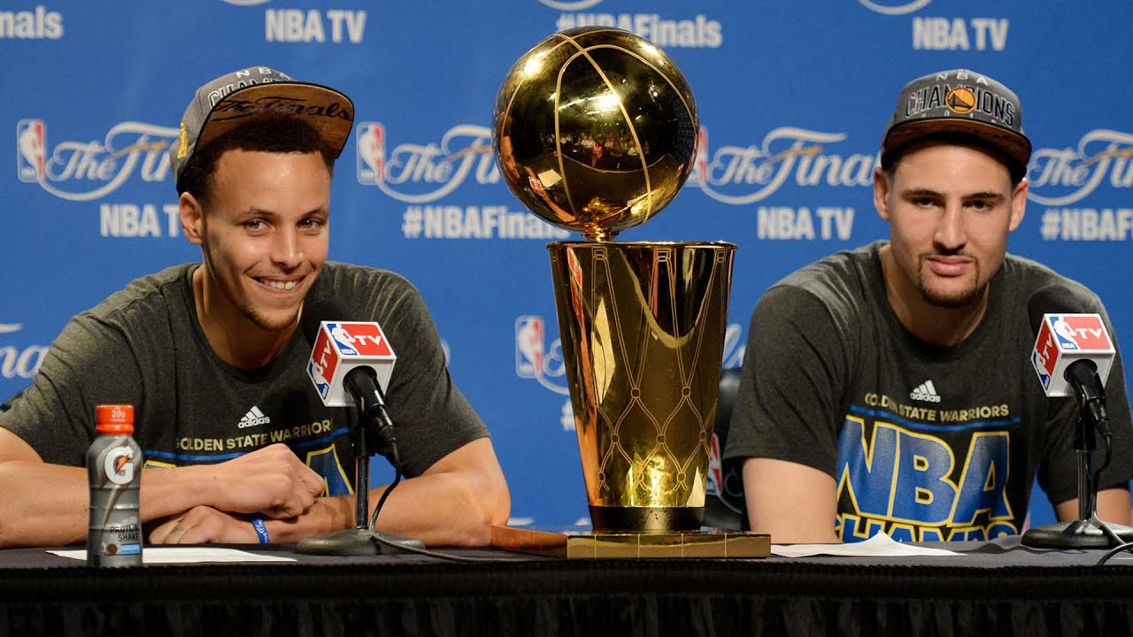 Klay Thompson and Kevin Love went 'dancing' during Game 3 and the Internet ...
