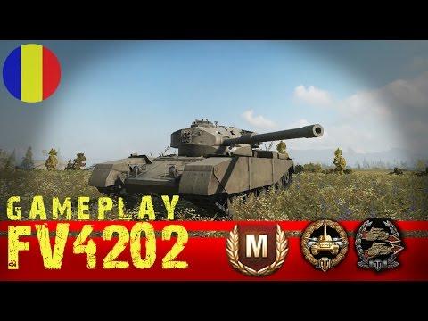World of Tanks | FV4202 Gameplay | Viitor tanc premium gratis ?