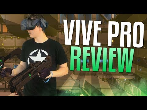 HTC VIVE Pro Review & Unboxing Mixed Reality VR Gameplay too