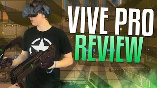 HTC VIVE Pro Review & Unboxing (Mixed Reality VR Gameplay too)