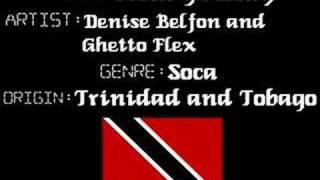 Denise Belfon & Ghetto Flex - Rock Ya Body - Soca Music