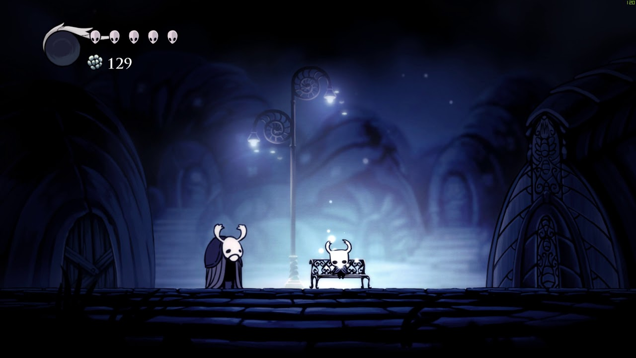 Hollow Knight benches