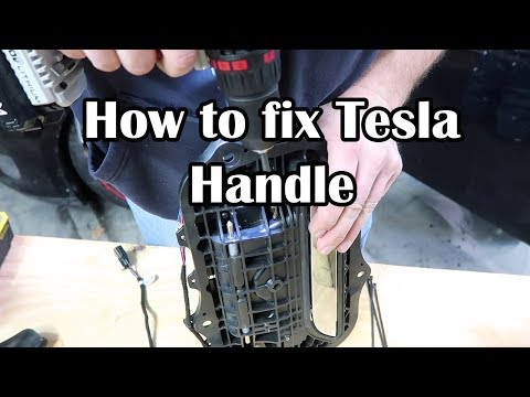 How to fix Tesla Door Handles
