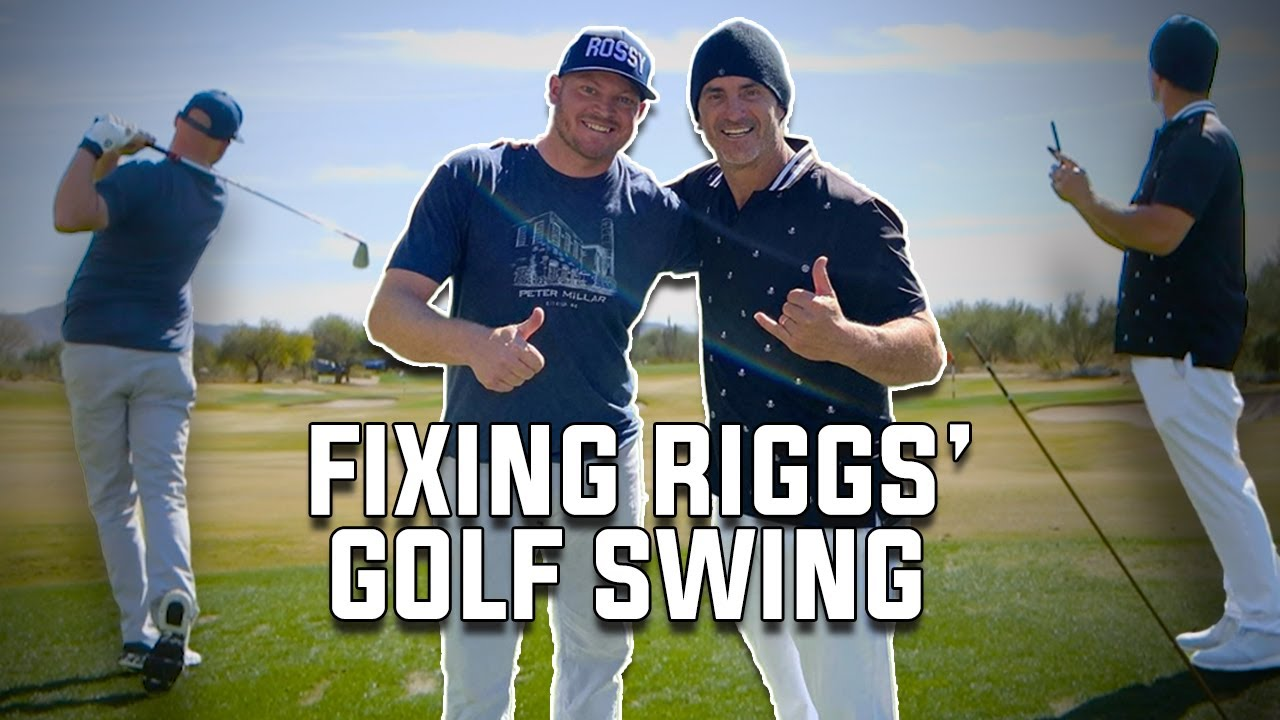 George Gankas Fixes Riggs' Swing - Full Lesson With George Gankas - download from YouTube for free