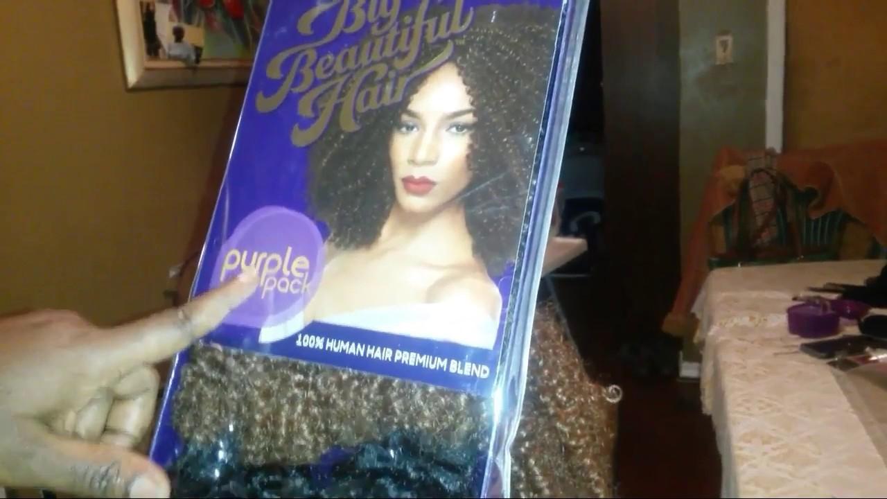 0320854cc4a1b4 Beauty Supply Store (BSS)  23.99 Big Beautiful Hair Purple Hair ...