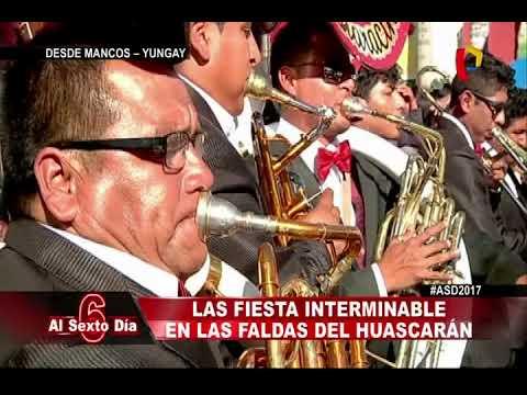 La fiesta de Mancos:  diversión interminable en las faldas del Huascarán