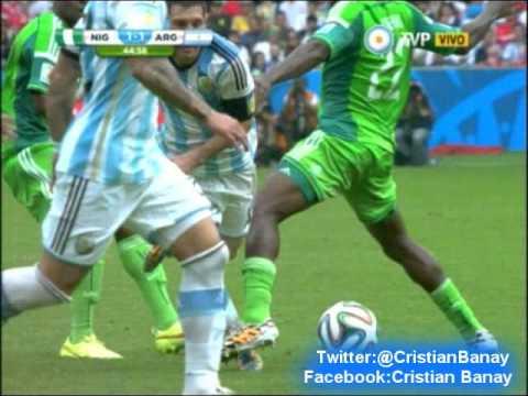Argentina 3 Nigeria 2 (Relato Daniel Mollo) Mundial Brasil 2014
